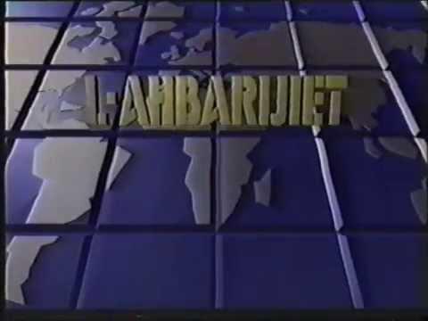 """TVM Malta 1989 - """"L-Aħbarijiet"""" News"""