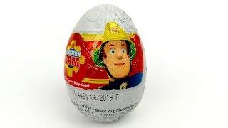 Пожежний Сем Кіндер Сюрприз яйця заини Шоко яйце сюрприз іграшки