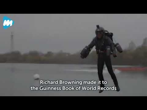 World Record of Attaining the Fastest speed in a Body -Controlled Jet Suit