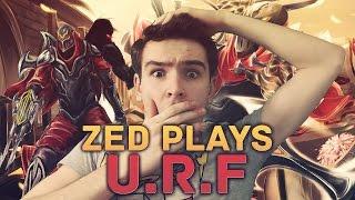 URF ZED 1v4 Plays Ultra Rapid Fire League Of Legends