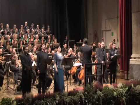 Attila Giuseppe Verdi concertato apparizione Papa Leone