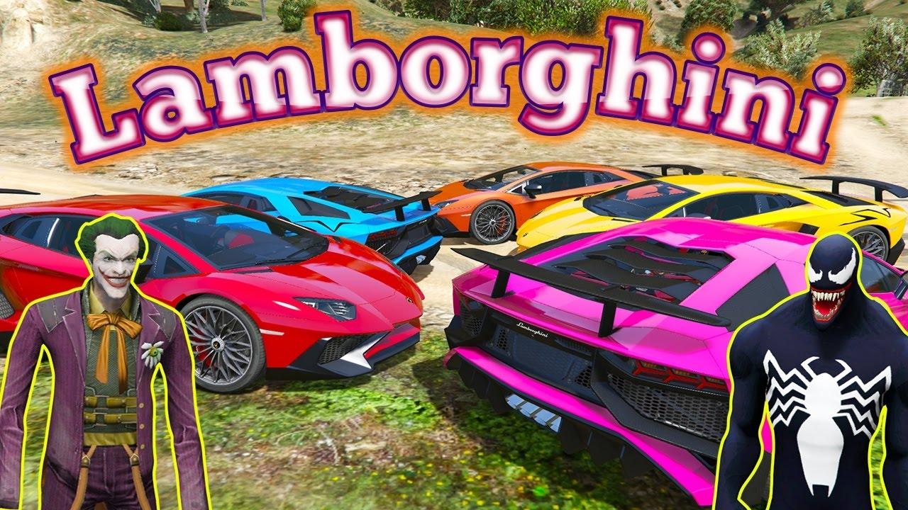 Download Joker ile Venom Lamborghini Süper Araba Almaya Gidiyorlar Çizgi Film Gibi İzle