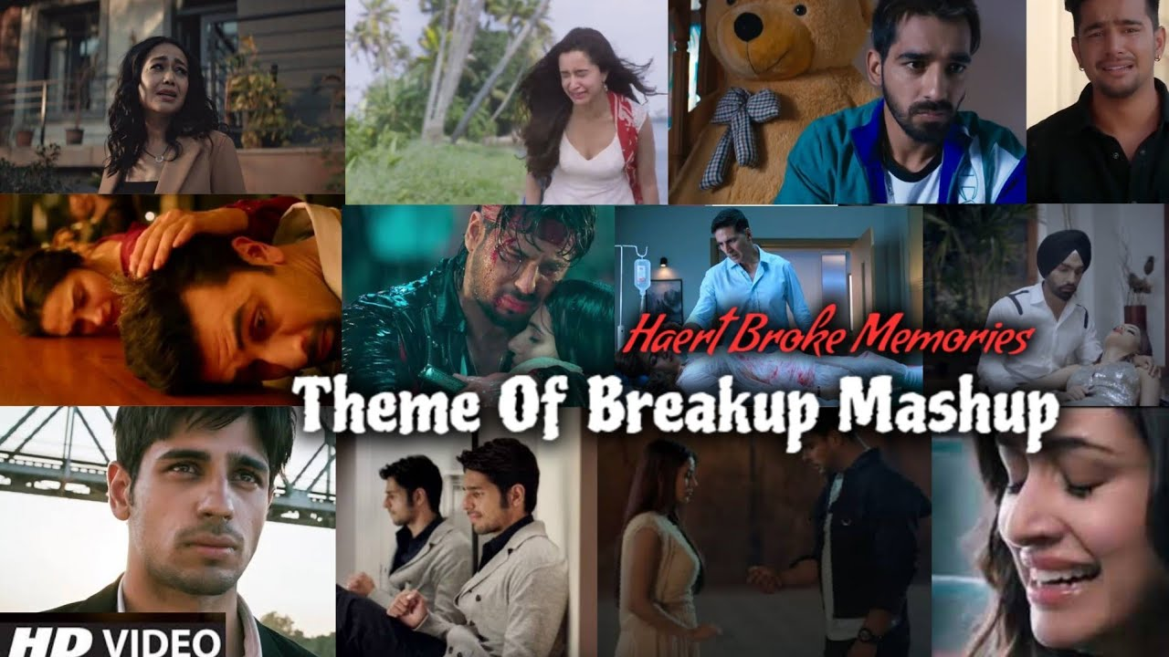 Download Theme Mashup 2021 | Memories Of Broken Heart | Breakup Mashup | Bollywood Song | Find Out Think