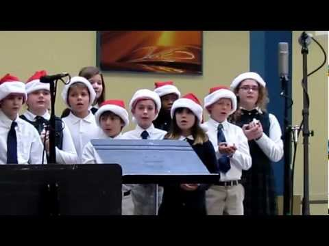 Sunny 102 Christmas Music & Most Holy Rosary School 2012  Part 1