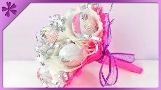 DIY Kinder Surprise bouquet for Children's Day, birthday (ENG Subtitles) - Speed up #102