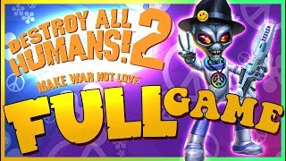 Destroy All Humans! 2 FULL GAME Longplay (PS4, PS2, XBOX) HD