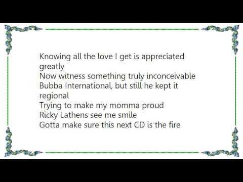 Bubba Sparxxx - Back in the Mud Lyrics