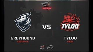 Grayhound vs TyLoo, map 2 cobblestone, ROG MASTERS 2017 Grand Finals