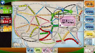 Ticket to Ride - Digital Board Game