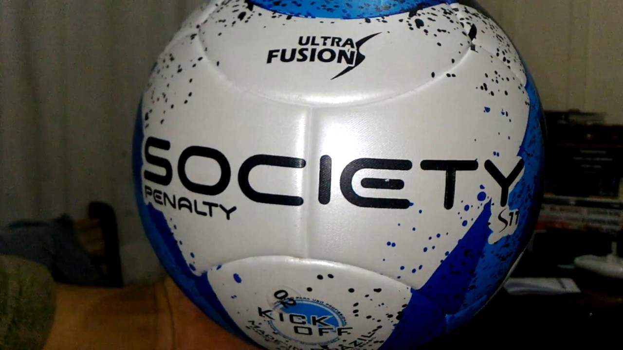 a53d513494 05 Desembalamento Unboxing Bola Futebol Penalty S11 R3 Ultra Fusion ...