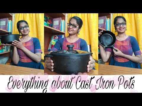 Cast Iron Cookware | Cast Iron Pot Unboxing | Natural Cookware | healthy Cookware