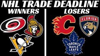 NHL Trade Deadline 2020 - Winners & Losers