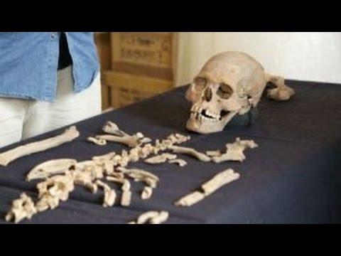 Osamenta de mujer encontrada en Teotihuacan es de élite Maya Video