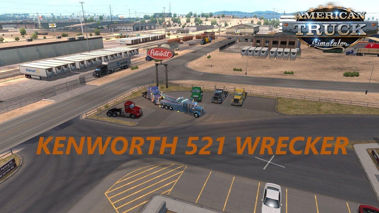 American Truck Simulator KENWORTH 521 WRECKER