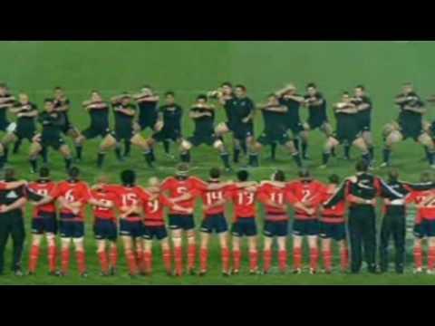Munster V All Blacks Haka Tries 2008 Youtube