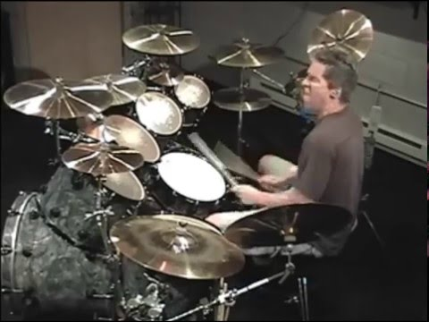 "Ted Kirkpatrick - ""Displacement"" solo from Circadian Rhythms DVD"