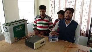 How we can convert a regular inverter into solar inverter