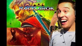 THOR 3 :RAGNAROK Official COMIC-CON Trailer REACTION #2 ( 2017)