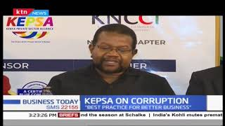 KEPSA talks about corruption in the country