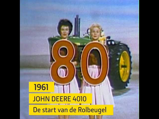 The Legend Lives on - 100 Jaar John Deere tractoren