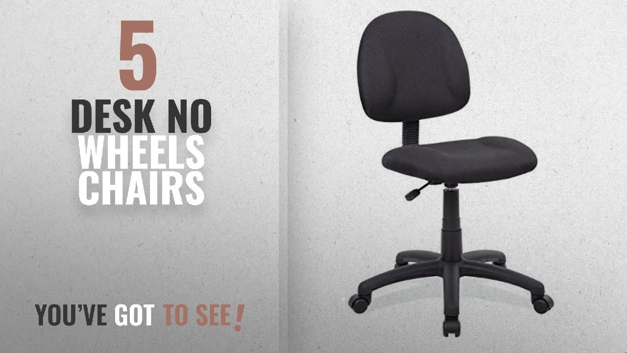 perfect posture chair. Top 10 Desk No Wheels Chairs [2018]: Boss Office Products B315-BK Perfect Posture Delux Fabric Task Chair