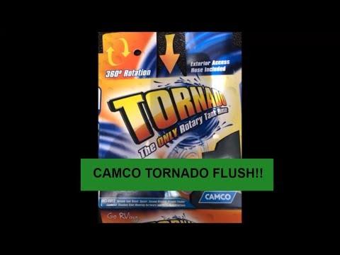 Camco Tornado Tank Flush Install Jayco Travel Trailer Youtube