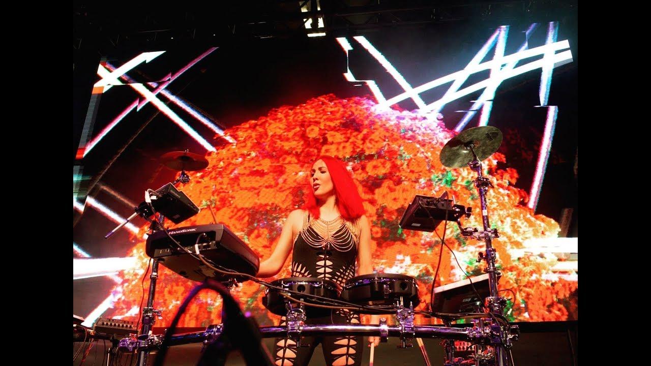Neon Pony - Hybrid DJ, Drummer and Vocalist - Live Sizzle