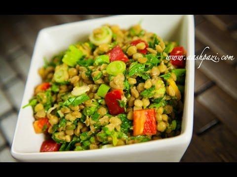 Lentils Salad Recipe (Healthy Recipe)