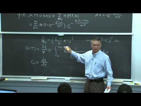 9. Specific Heat and Planck's Law
