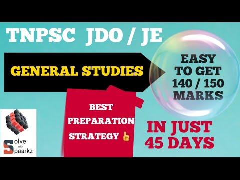 TNPSC JDO/ JE/