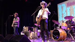 Too Slim & the Taildraggers (3of10) @ Keepin' the BluesAlive Vlierden, nov2019, The Netherlands.