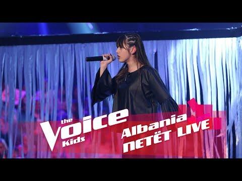 Sindi - Paris ooh la la   Netët Live   Nata 2   The Voice Kids Albania 2018