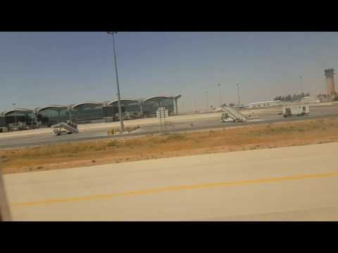 Pegasus b. 737 Landing Amman .. Flight from Ankara  August  _ 2016