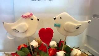 Ягодный торт на свадьбу - на заказ в Казани