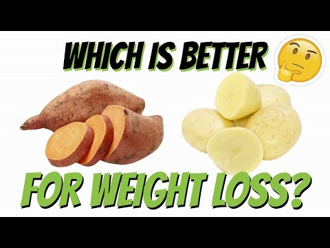 Sweet Potato vs White Potato (WHICH ONE IS BETTER FOR WEIGHT LOSS?) | LiveLeanTV