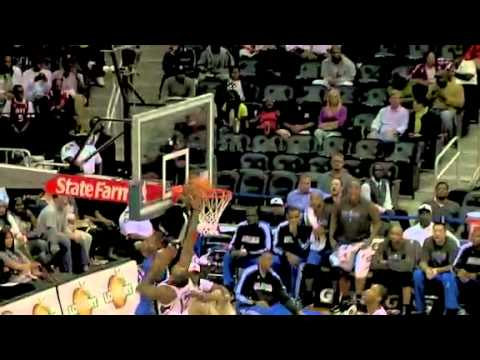 Chris Duhon assist up Dwight Howard for the alley oop and one Orlando Magic Preseason