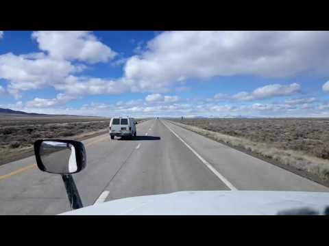 Bigrigtravels Live! - Battle Mountain to Fernley, Nevada - Interstate 80 West - February 27, 2017