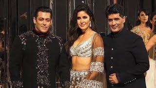 Salman Khan & Katrina Kaif HOT Rampwalk | Manish Malhotra