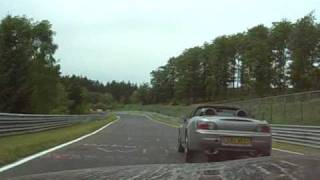 BMW Z3M (321 HP) Nurburgring lap smoking everyone