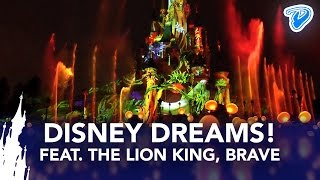 Disney Dreams! Disneyland Paris 2013 full show with Lion King, Brave, Light'Ears(NEW 2015 SHOW with FROZEN: https://youtu.be/USW7OlhNUAw — Disney Dreams! Disneyland Paris nighttime spectacular HD FULL 2014 SHOW with The ..., 2013-03-25T05:57:57.000Z)