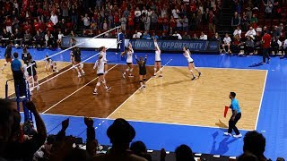 Highlights: Stanford women's volleyball picks up steam against Penn State to set up rematch...