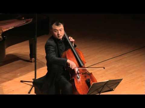 "Antonin Dvorak Silent Wood ""KLID"" Op.68, NO. 5 for Cello and Piano - Cellist Kyung-Won Jeon"