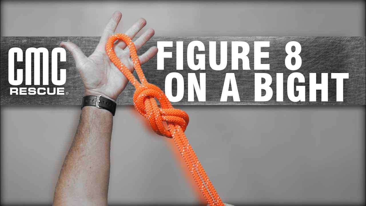 Learn how to Tie a Figure 8 on a Bight