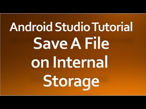 create file android internal storage