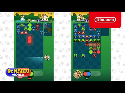 Dr. Mario World Multiplayer Introduction