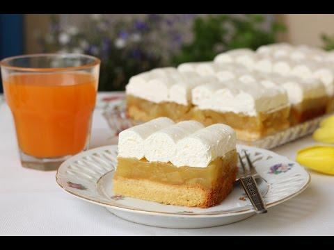JUGOSLOVENSKI KOLAČ  - Jugoslawischer Apfelkuchen - Yugoslavian cake