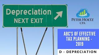 ABC's Effective Tax Planning - Depreciation