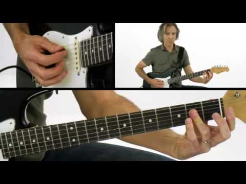 CAGED Commander - #3 Chord Shapes - Guitar Lesson - Dave Celentano