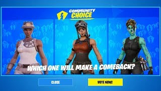 Le compte à rebours du système de vote FORTNITE ITEM SHOP DE NEWFORTNE: VOTE FOR OG SKINS! (Fortnite Battle Royale)