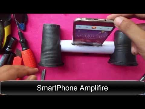 DIY How To Make A Amplifire For SmartPhone